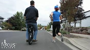 電動一輪車「SBU(Self Balancing Unicycle)」