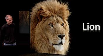 「Mac OS X 10.7 Lion」iOSのイノベーションをMac OS Xに