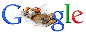 Googleロゴ「Thanksgiving(感謝祭)」に