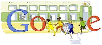 Googleロゴ「Rosa Parks(ローザ・パークス)」に