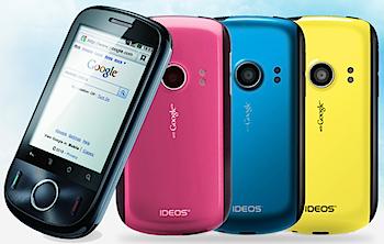 日本通信のSIMロックフリーなスマートフォン「IDEOS」検討&関連記事