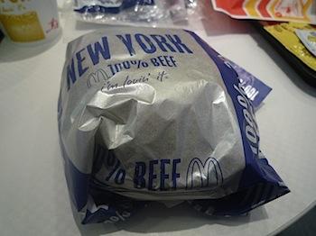マクドナルド「ビッグアメリカ」ニューヨークバーガーを食べてきた!