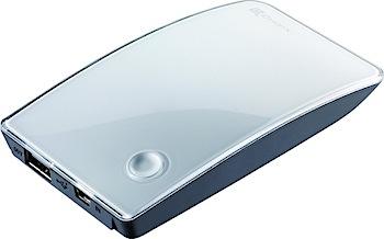 「Power Fort」iPhone/iPadで使えるスタイリッシュな2,700mAh外部バッテリ