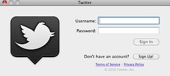 ツイッター公式クライアントソフト「Twitter for Mac」はシュパーンとした操作感