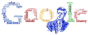 Googleロゴ「John F. Kennedy inaugural address」に