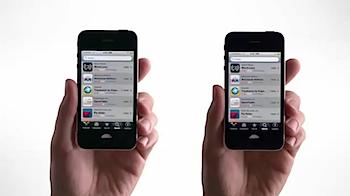 AT&TとVerizonがコラボした「iPhone 4」の新しいテレビCM