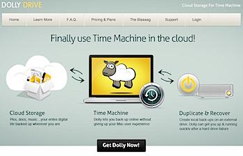 クラウドでTime Machineバックアップする「Dolly Drive」