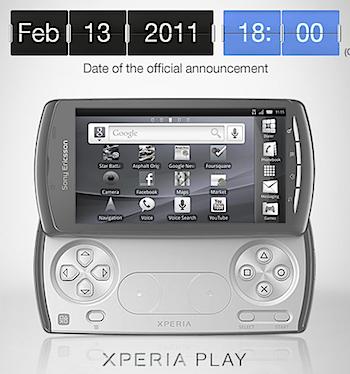 「Xperia PLAY」プレイステーションが遊べるケータイ
