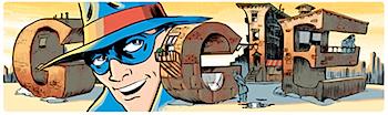 Googleロゴ「Will Eisner(ウィル・アイズナー)」に