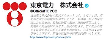 東京電力、ツイッターを開始