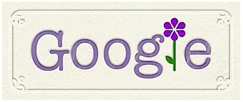 Googleロゴ「母の日」に
