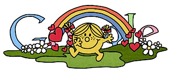Googleロゴ「ミスターメンリトルミス」に