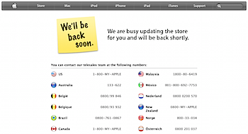 「Apple Store」10周年で新製品がローンチか!?