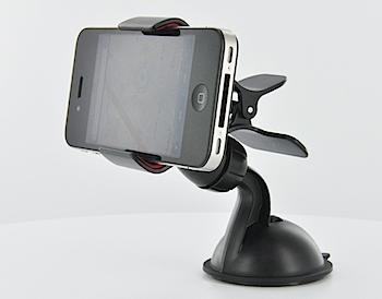 iPhone/スマートフォン用車載ホルダー「200-CAR008」