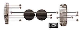 Googleロゴ、弾くと音が出る「レスポール」に