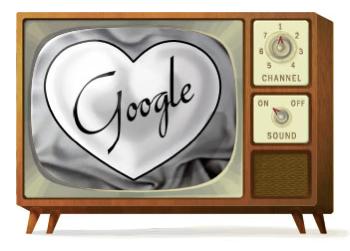 Googleロゴ「Lucille Ball(ルシル・ボール)」に