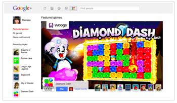 「Google+」ゲーム機能が追加!