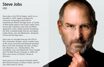 スティーブ・ジョブズ、AppleのCEOを辞任