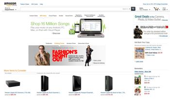 Amazonが新デザインをテスト中?