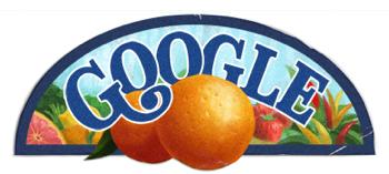 Googleロゴ「セント ジェルジ アルベルト」に