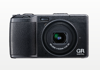 リコー「GR DIGITAL IV」