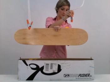 虹色のスケートボードの作り方