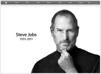 Steve Jobs(スティーブ・ジョブズ)死去