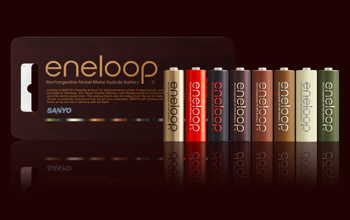 エネループ、累計2億個達成でチョコ色の限定商品「eneloop tones chocolat」