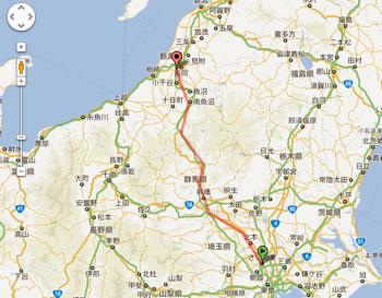 Googleマップで「距離測定ツール」を使う