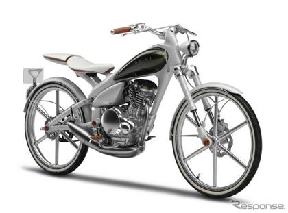 「Y125もえぎ(MOEGI)」東京モーターショー2011で発表予定のヤマハのコンセプトバイク