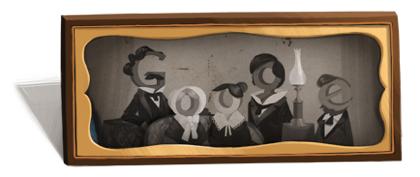 Googleロゴ「ルイ ダゲール」に