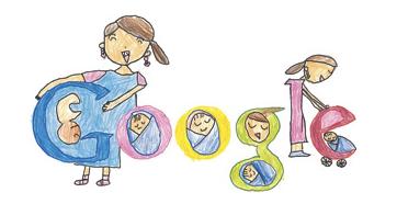 Googleロゴ、Doodle 4 Google 「将来やってみたいこと」に