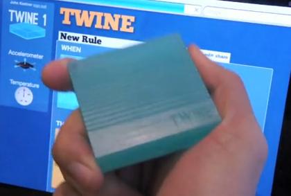 モノが特定の状態になったらツイートしたりメールしてくれる「Twine」