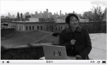 小沢健二、Ustreamで2012年3月・4月のライブを告知(リニューアル後のサイトの画像あり) #ozkn