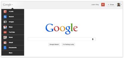 「Googleバー」新デザインを公開