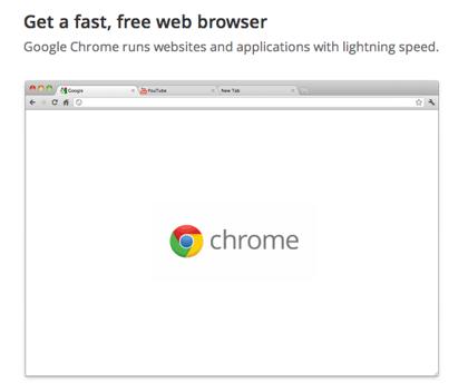 「Google Chrome 15」世界で最も利用されるウェブブラウザに