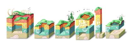 Googleロゴ「ニコラウス ステノ」に
