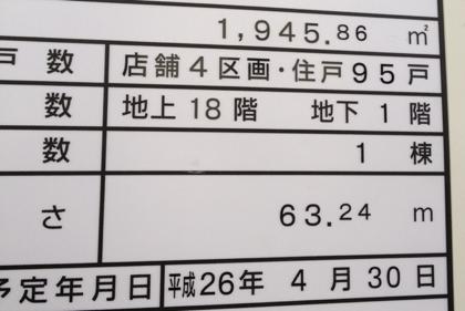 ユザワヤ跡地には18階建てマンション(浦和)