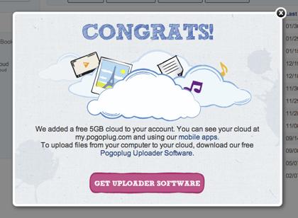 「Pogoplug Cloud」日本でも利用可能に