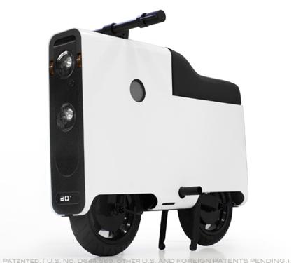 乗りたい!全長1mの箱形電動バイク「BOXX」
