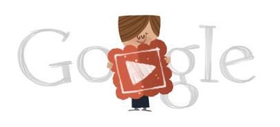 Googleロゴ「バレンタインデー」に