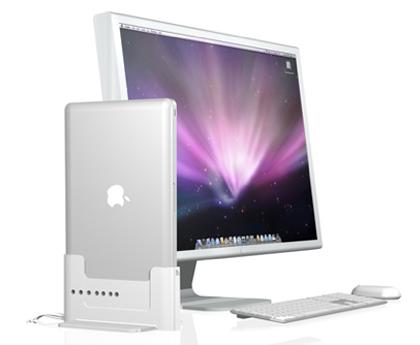 MacBook/Pro/AirをモニタやUSBと簡単に接続するDock「Henge Docks」