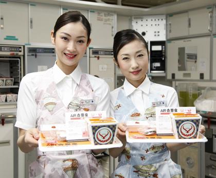 JALで空飛ぶ牛丼「AIR吉野家」