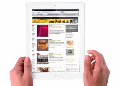 新しい「iPad」オンラインストアの初回入荷分が完売