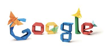 Googleロゴ「吉澤章」に