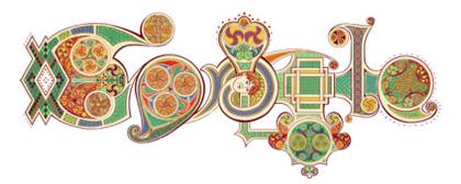 Googleロゴ「St. Patrick's Day」に