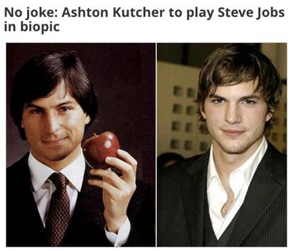 Ashton Kutcher、インディー映画「Jobs」でSteve Jobsを演じる