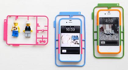 自分で組み立てるプラモデル型iPhoneケース「KIT_」
