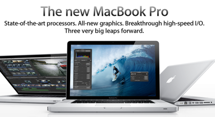 薄型・軽量の「MacBook Pro」4月中旬までに出荷か?