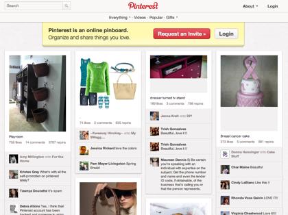 楽天、画像共有ソーシャルサービス「Pinterest」に出資